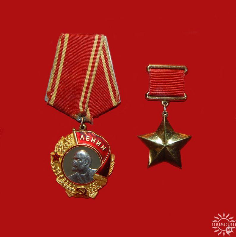 Награды Брестской крепости-героя